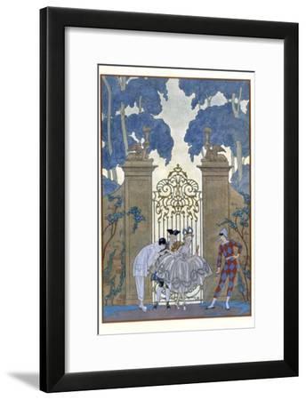 Columbine, Illustration For Fetes Galantes by Paul Verlaine