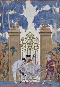 Columbine by Georges Barbier