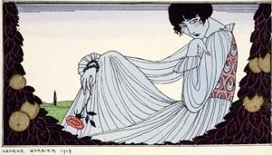 Contemplation ? 1919 by Georges Barbier