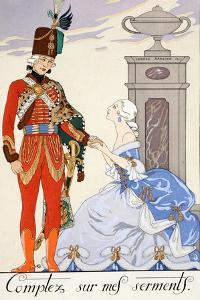 Count on My Oaths by Georges Barbier
