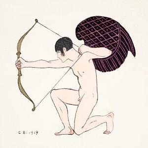 Cupid 1919 by Georges Barbier