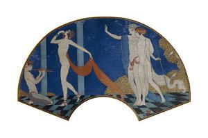 Dancing Figures on a Terrace, 1911 by Georges Barbier