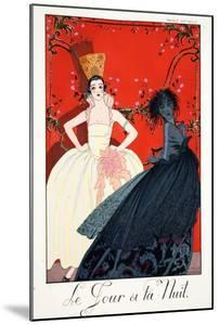 Day and Night, from 'Falbalas and Fanfreluches, Almanach des Modes Présente by Georges Barbier