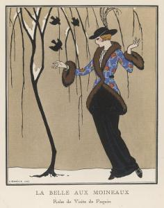 Design by Paquin by Georges Barbier