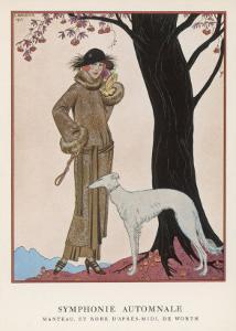 Design by Worth by Georges Barbier