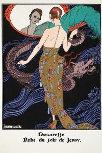 Dogaresse - Evening Gown by Jenny, 1919-21 by Georges Barbier