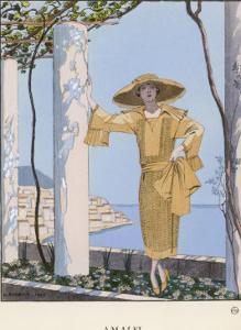 Dress by Worth by Georges Barbier