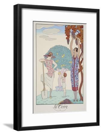 Earth, from 'Falbalas and Fanfreluches, Almanach des Modes Présentes, Passées et Futures', 1925