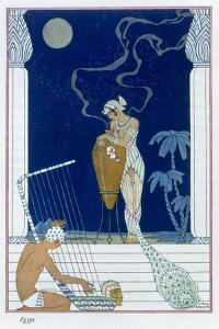 'Egypt', 1912 by Georges Barbier