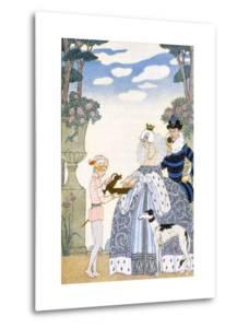 Elizabethan England, from 'The Art of Perfume', Pub. 1912 (Pochoir Print) by Georges Barbier