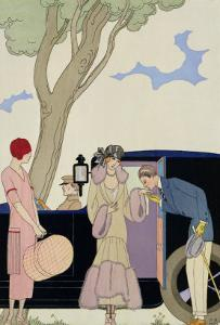 Envy, 1914 by Georges Barbier