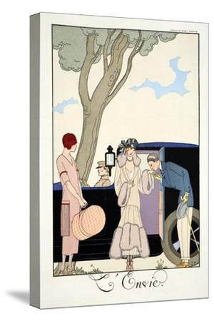 Envy, from 'Falbalas and Fanfreluches, Almanach des Modes Présentes, Passées et Futures', 1925