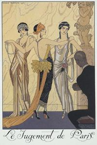 Falbalas Et Fanfreluches, Almanac for 1924,The Judgment of Paris by Georges Barbier