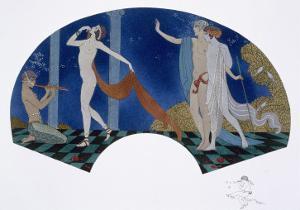 Fan Design, 1911 by Georges Barbier