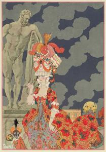 Fashion at its Highest, 1927 by Georges Barbier