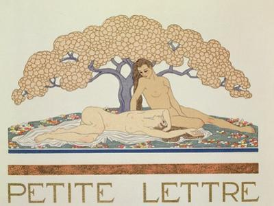 Female Nudes, Illustration from 'Les Mythes' by Paul Valery (1871-1945) Published 1923