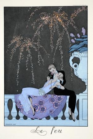 Fire, from 'Falbalas and Fanfreluches, Almanach des Modes Présentes, Passées et Futures', 1926