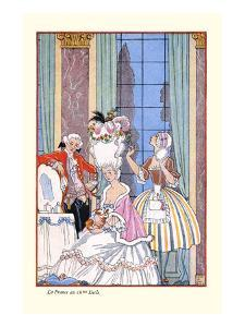 France in the 18th Century by Georges Barbier