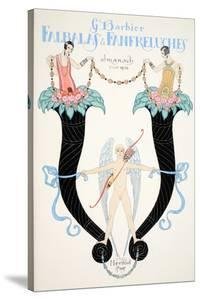 Front Cover of 'Falbalas and Fanfreluches, Almanach des Modes Présentes, Passées et Futures', 1926 by Georges Barbier
