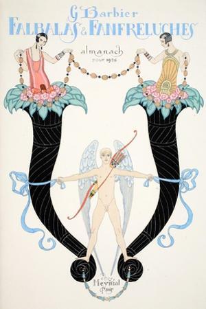 Front Cover of 'Falbalas and Fanfreluches, Almanach des Modes Présentes, Passées et Futures', 1926