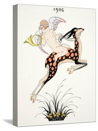 Frontispiece of 'Falbalas and Fanfreluches, Almanach des Modes Présentes, P
