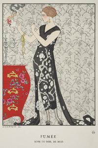 Fumee by Georges Barbier