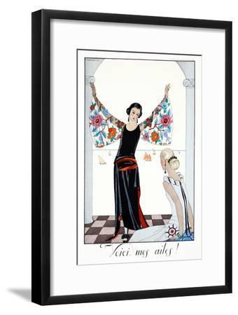 Here are My Wings!, from 'Falbalas and Fanfreluches, Almanach des Modes Présentes, Passées et…