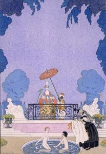 Illustration from a Book of Fairy Tales, 1920S by Georges Barbier