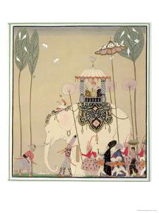 Imperial Procession by Georges Barbier