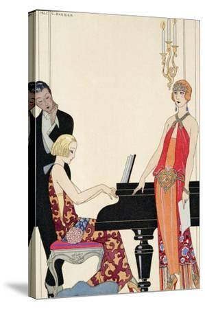 Incantation, Illustration for 'Gazette Du Bon Ton', 1922 (Pochoir Print) by Georges Barbier