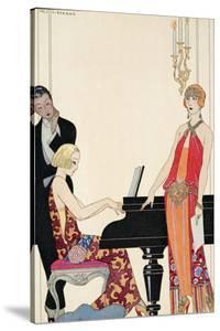 Incantation, Illustration for 'Gazette Du Bon Ton', 1922 (Pochoir Print) by Georges Barbier