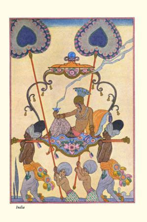 India by Georges Barbier