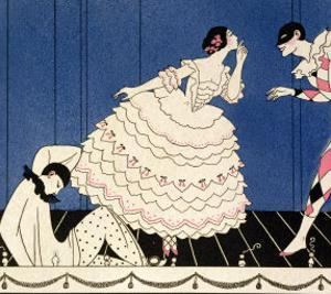 Karsavina, 1914 by Georges Barbier