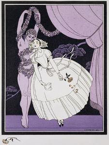 Karsavina, 1914 by Georges Barbier