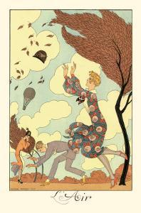 L'Air by Georges Barbier