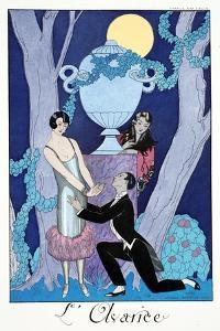 L'Avarice, 1924 by Georges Barbier