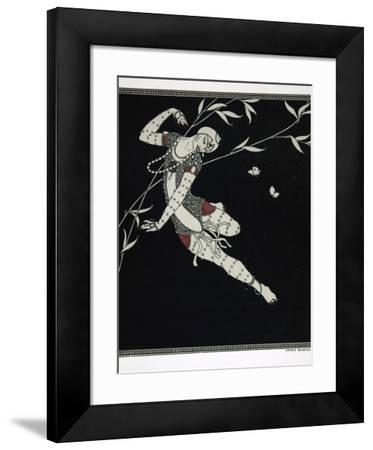 L'Oiseau de Feu, from the Series Designs on the Dances of Vaslav Nijinsky