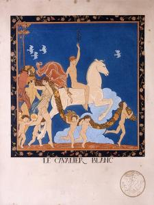 Le Cavalier Blanc, 1912 by Georges Barbier