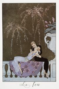 Le Feu by Georges Barbier