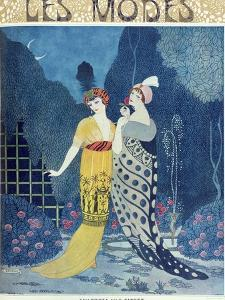 Les Modes by Georges Barbier