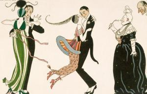 Madness of the Day, Engraved by H. Reidel For Friends of the Journal Des Dames et Des Modes, 1913 by Georges Barbier