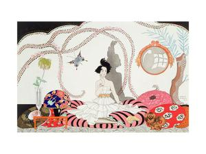 Midnight! or the Fashionable Apartment, 1920 by Georges Barbier
