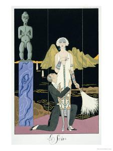 Night, 1925 by Georges Barbier