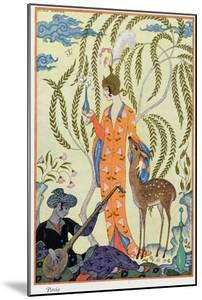 Persia, Illustration from The Art of Perfume, Pub. 1912 by Georges Barbier