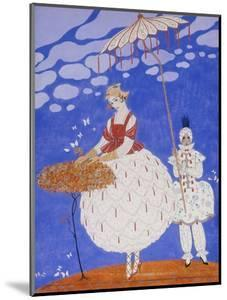 Roses d'Automne, 1916 by Georges Barbier