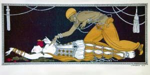 Scheherazade, from the Series Designs on the Dances of Vaslav Nijinsky by Georges Barbier