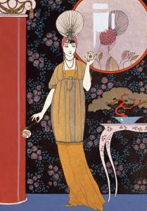 Sheherazade, France, Early 20th Century by Georges Barbier