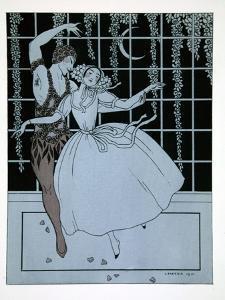 Spectre de La Rose from the Series Designs on the Dances of Vaslav Nijinsky by Georges Barbier