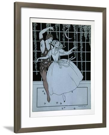 Spectre de La Rose from the Series Designs on the Dances of Vaslav Nijinsky