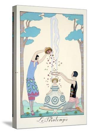 Spring, from 'Falbalas and Fanfreluches, Almanach des Modes Présentes, Passées et Futures', 1926